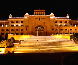 A spectacular view of  Rajasthan Legislative Assembly