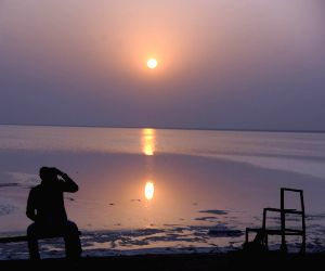 Kutch (Gujarat) : Sunset