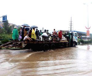 VIETNAM QUANG NINH HEAVY RAIN FLOOD