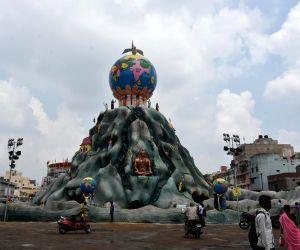 Durga Puja - Uppar Bazaar