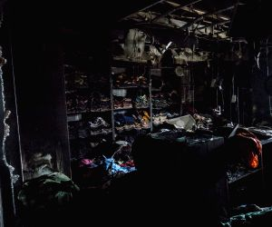 Fire breaks out in Kolkata market