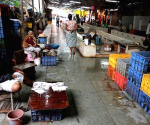 Deserted Panaji fish market