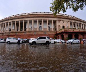 Rahul Gandhi at Parliament