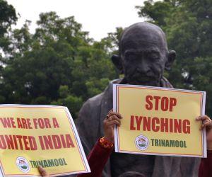 TMC 's demonstration at Parliament