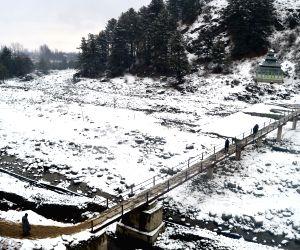 Fresh snowfalls