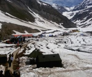 Jammu and Kashmir: Snow-clad Sheshnag base camp