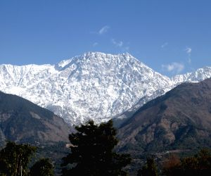 Snow Covered Dhauladhar Range