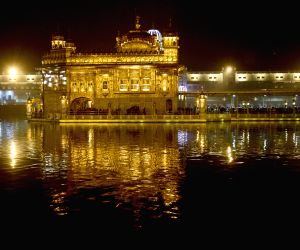 Golden Temple  - on the eve of 350th birth anniversary of Guru Gobind Singh