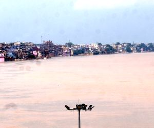 Ganga water level rises in Varanasi