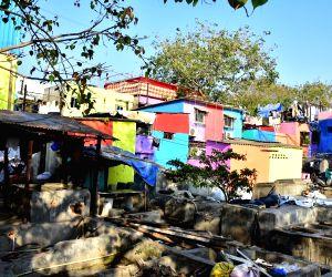 Misaal Mumbai' - Rouble Nagi during her visit to slums