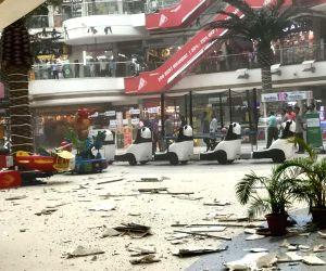Raghuleela Mall's ceiling portion collapses