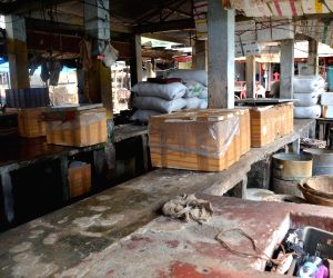 Deserted Ganeshguri fish market following Assam govt's 10-day ban on fish import