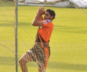 Sunrisers Hyderabad practice session