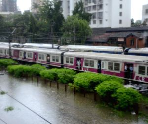 Heavy rains leave the city flooded