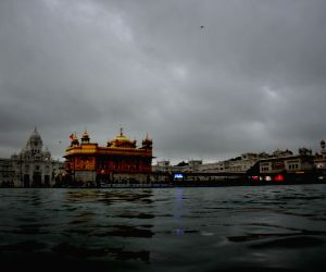 Golden Temple during rains