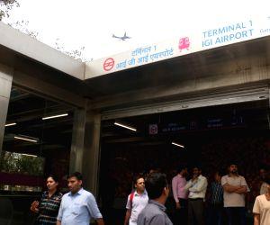 Delhi metro's magenta line - Trial run