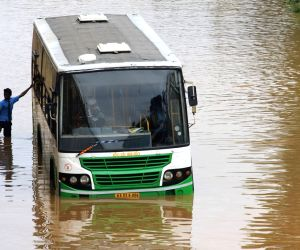 Rains leave Bengaluru water-logged