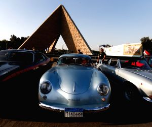 EGYPT CAIRO VINTAGE CARS SHOW
