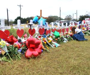 U.S. SUTHERLAND SPRINGS SHOOTING MOURNING