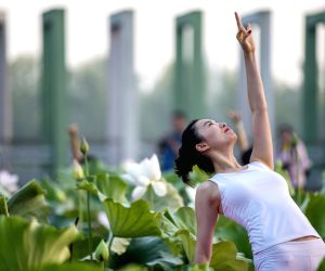 China celebrates Yoga Day