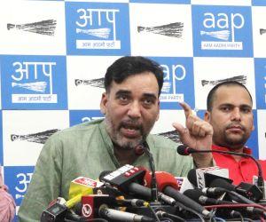 Sanjay Singh, Ashutosh press conference