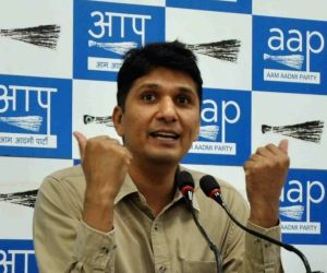 Can AAP's Saurabh Bharadwaj pull off a hat-trick from GK?