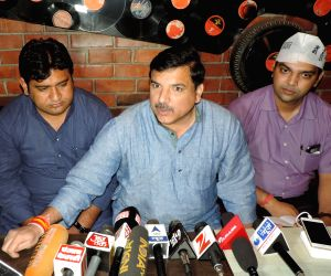 Sanjay Singh's press conference