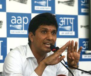 AAP leader Saurabh Bhardwaj. (File Photo: IANS)