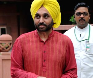 Bhagwant Mann appeared before the parliamentary panel
