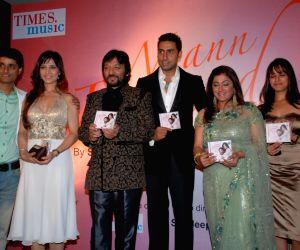 Abhishek Bachchan, Sunali and Roop kumar Rathod's Launches New Music Album 'Mann Pasand'.
