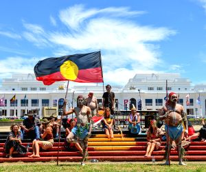 AUSTRALIA-CANBERRA-PEOPLE'S CLIMATE MARCH