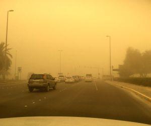 UAE-ABU DHABI-SAND STORM
