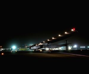 UAE-ABU DHABI-SOLAR IMPULSE 2-GLOBAL TOUR-COMPLETION