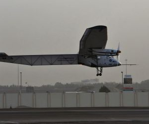 UAE-ABU DHABI-SOLAR PLANE-TAKE OFF