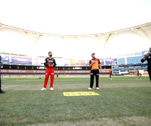 File Photo: Toss during match 3 of season 13 Dream 11 Indian Premier League