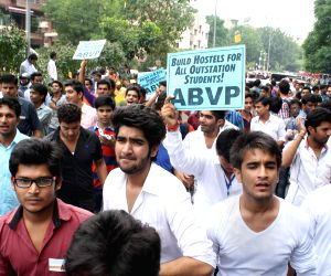 'March for Students Right' - ABVP