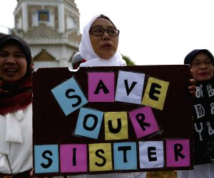 INDONESIA-ACEH-RALLY AGAINTS SEXUAL VIOLENCE
