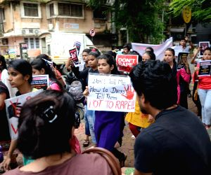 Maharashtra State Deaf Associations' demonstration