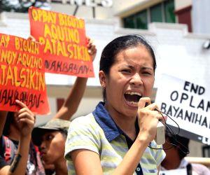 PHILIPPINES QUEZON CITY PROTEST