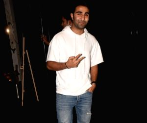 Bhumi Pednekar's birthday celebration - Aadar Jain