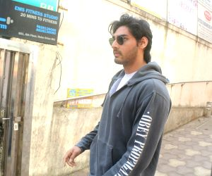 Athiya Shetty, Aahan Shetty seen at Bandra
