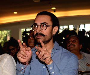 Aamir Khan at Manjeet Hirani's book launch