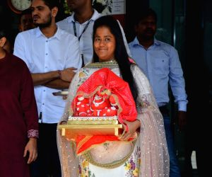 Ganesh Chaturthi celebrations - Arpita Khan Sharma