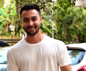 Aayush Sharma seen at Juhu