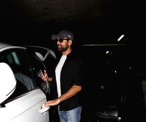 Abhay Deol seen at Mumbai airport