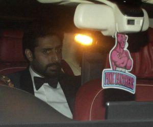 Abhishek Bachchan at Deepika Padukone's party