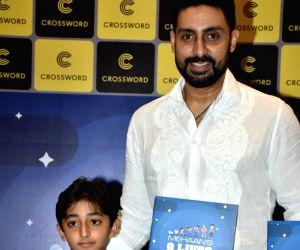 Abhishek Bachchan at a book launch