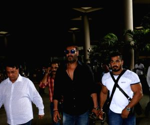 Ajay Devgan spotted at airport