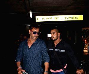 Ajay Devgan spotted at airport
