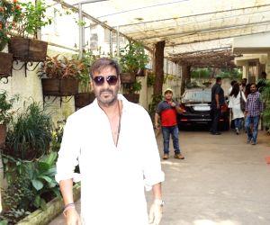 Ajay Devgn seen at a cinema theater